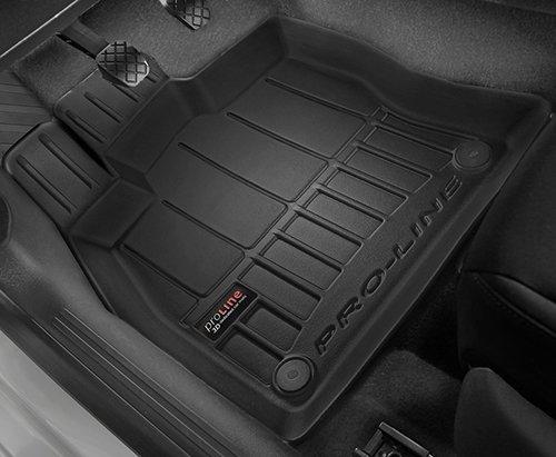3d premium tpe alfombrillas de goma alfombrillas coche para Toyota Avensis III Limousine 09-16